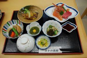 みかわ旅館 夕食2