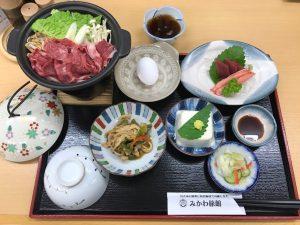 みかわ旅館 夕食1